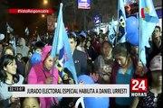 JEE habilitó continuidad de candidatura de Urresti en elecciones municipales