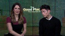 "IR Interview: D'Arcy Carden & Manny Jacinto For ""The Good Place"" [NBC-S3]"