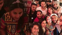 Hina Khan celebrates her Birthday with Vikas Gupta and Rocky Jaiswal; Watch video| FilmiBeat