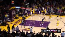 LeBron James MONSTER Dunk vs Nuggets - October 2, 2018 - NBA Preseason