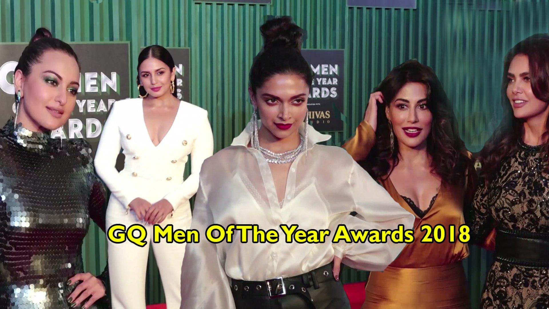 GQ Men Of The Year Awards 2018 | Deepika, Saif, Tiger Shroff, Sonakshi, Karan & More | FULL EVEN