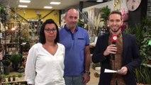 ✅38 JT des PO à la Jardinerie Main Verte à Saint-Laurent-de-la-Salanque avec Anne et Nicolas Lopez #TVCAT