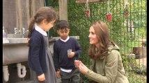 De retour de congé de maternité, Kate Middleton s'offre un joli moment avec des enfants