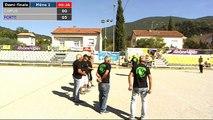 7ème national vétérans à Nyons : Demi-finale CAMUS vs BRIAND