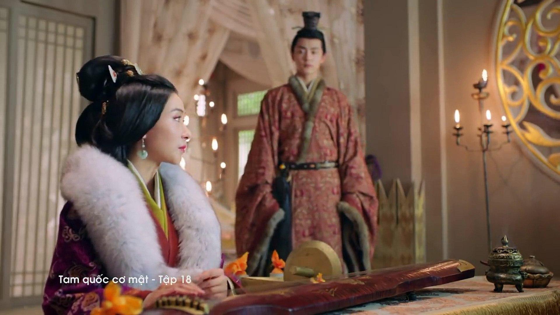 TAM QUỐC CƠ MẬT - Tập 18 FULL   Phim cổ trang Trung Quốc lồng tiếng 2018 hay
