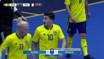 Futsal : Suède-France (0-3 et 2-5), les buts I FFF 2018