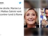 Extrême droite. Marine Le Pen et Matteo Salvini vont se rencontrer lundi à Rome.