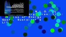 F.R.E.E [D.O.W.N.L.O.A.D] The Grand Energy Transition: The Rise of Energy Gases, Sustainable Life