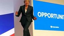 Congrès annuel des Conservateurs : Theresa May défend son plan Brexit et danse sur scène