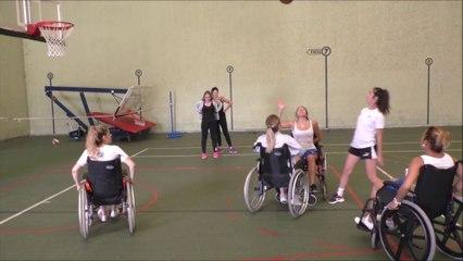 Les étudiants infirmiers Dacquois, sensibilisés au handicap