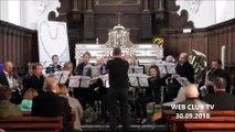HECQ  Concert d'automne  vive la france par l'harmonie Municipale de Landrecies