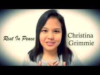 Christina Grimmie Inspired Me