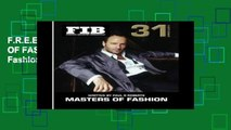 F.R.E.E [D.O.W.N.L.O.A.D] MASTERS OF FASHION Vol 31 Americans: American Fashion Legends: Volume 31