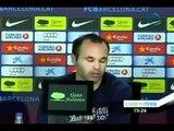 Se alista el Barça para la final de la copa del Rey contra el Athletic de Bilbao
