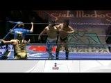 Shocker, Blue Panther y Máscara Dorada vs. Mr. Niebla, Negro Casas y El Felino 16/02/13
