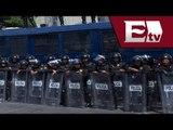 Uso de fuerza del cuerpo policial en la marcha del 2 de octubre/ Titulares de la Tarde