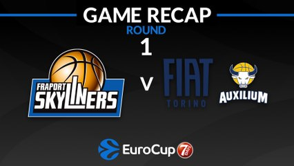 7Days EuroCup Highlights Regular Season, Round 1: Skyliners 88-85 Fiat Turin