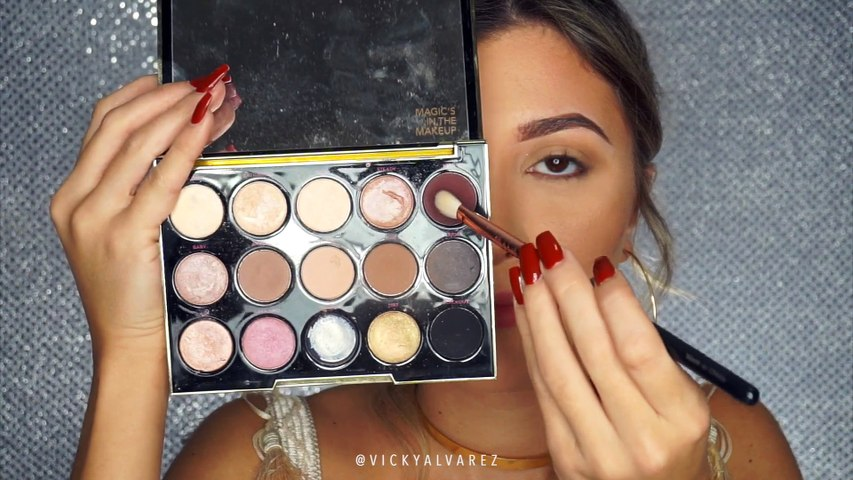 Maquillaje Glam Para Navidad