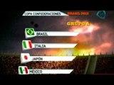Deportes Dominical. México se ubica en el 'grupo de la muerte' en la Confederaciones