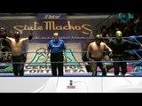 Metálico, Leono y Molotov vs. Inquisidor, Apocalipsis y Taurus  19/01/13