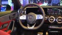 Mercedes Classe A berline : 3 volumes sinon rien - Vidéo en direct du Mondial de l'Auto 2018