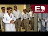 Secretaria de Salud, Mercedes Juan, visita hospital regional de Huejutla