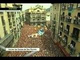 Inician las fiestas de San Fermín en España