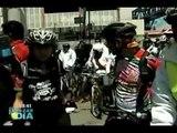 Inauguran estacionamiento de bicicletas en estación de Suburbano