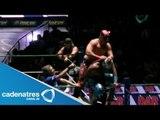 Rey Cometa, Stuka Jr. y Fuego vs. Terrible, Rey Bucanero y Tiger 06/07/13
