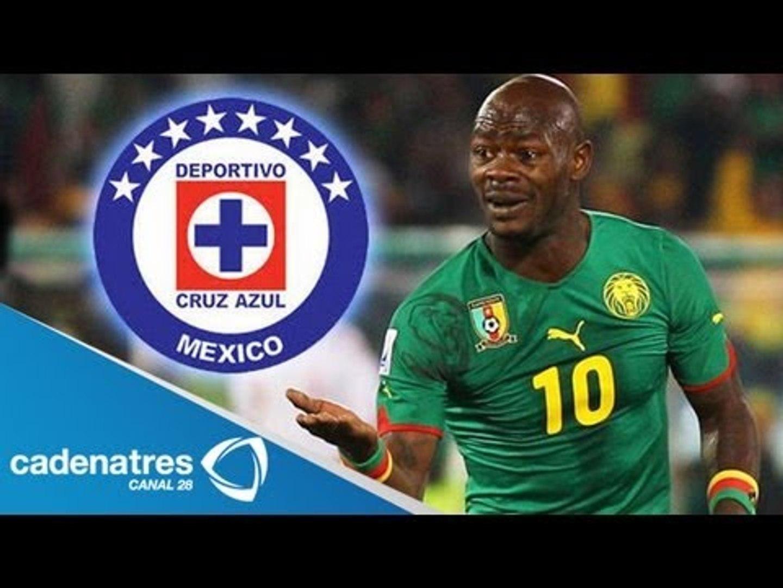 Cruz Azul confirma al camerunés Achille Emana como nuevo refuerzo celeste