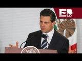 Peña Nieto felicita a la cámara de diputados por aprobar reformas constitucionales/Andrea N.