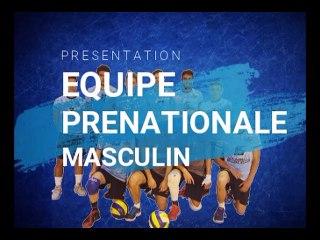 Présentation de l'équipe Prénationale Masculin