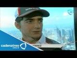 Entrevista con Esteban Gutiérrez piloto de la formula 1