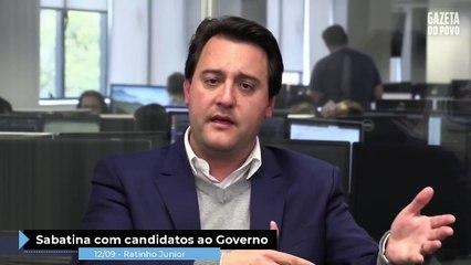 As promessas de Ratinho Junior 605206ed148
