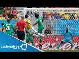 Colombia clasifica a octavos de final tras ganar 2-1 a Costa de Marfil