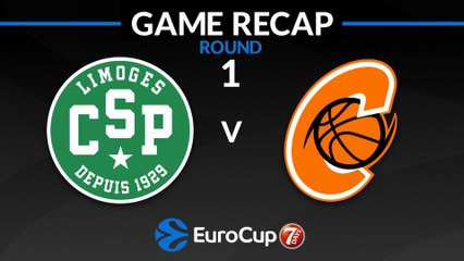 7Days EuroCup Highlights Regular Season, Round 1: Limoges 82-68 Cedevita