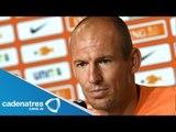 Arjen Robben: el penalti fue muy claro y no debe haber polémica al respecto