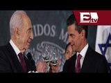 Realizan cena en honor a Shimon Peres, Presidente de Israel / Shimon Peres visita México