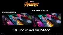 Avengers Infinity War IMAX Comparison Trailer (2018)