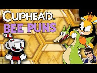 BEE PUNS!!! - Cuphead Expert Mode Gameplay - Funny Highlights