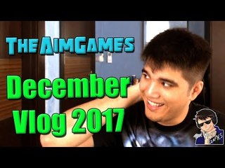 TheAimGames December Vlog 2017 - End Year Review