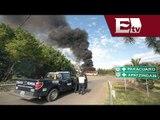 Terminal de Autobuses de Morelia suspenden salidas,tras quema de automóviles y comercios