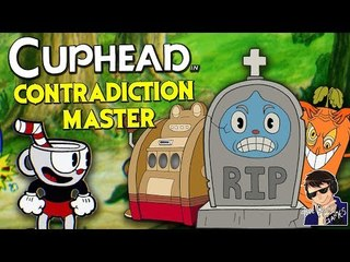 CONTRADICTION MASTER!!! - Cuphead Expert Mode Gameplay - Funny Highlights