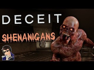 INFECTED SHENANIGANS!!! - Deceit Gameplay - Funny Highlights