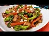 Receta de como preparar tofu stir fry. Receta de tofu / Receta comida oriental / Receta de tofu stir