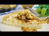 Receta de como preparar tarta gourmet de queso azul. Receta de tartas / Receta comida mexicana