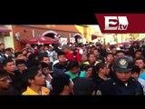 Intentan linchar a chofer de microbús, que atropelló a viejitos en Xochimilco /Atropellan a viejitos