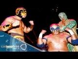 Nitro, Metálico y Arcángel vs Súper Halcón Jr , Hombre Bala Jr y Magnus 27/06/2015