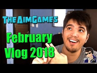 TheAimGames February Vlog 2018 - Going On A Vacation!