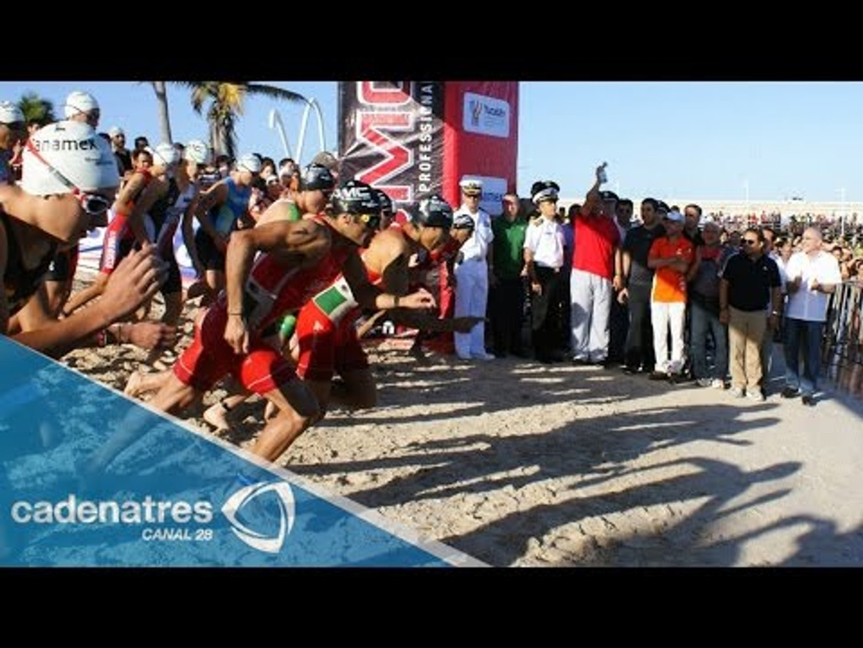 Quintana Roo será sede del Campeonato Mundial de Triatlón